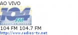 104 FM 104.7 FM - Ao Vivo