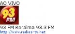 93 FM Roraima 93.3 FM - Ao Vivo