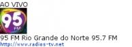 95 FM Rio Grande do Norte 95.7 FM - Ao Vivo