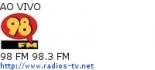 98 FM 98.3 FM - Ao Vivo