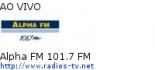 Alpha FM 101.7 FM - Ao Vivo