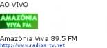 Amazônia Viva 89.5 FM - Ao Vivo