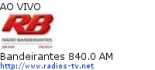 Bandeirantes 840.0 AM - Ao Vivo