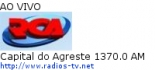 Capital do Agreste 1370.0 AM - Ao Vivo