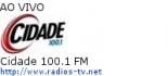 Cidade 100.1 FM - Ao Vivo