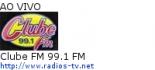 Clube FM 99.1 FM - Ao Vivo