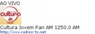 Cultura Jovem Pan AM 1250.0 AM - Ao Vivo