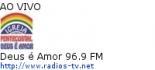 Deus é Amor 96.9 FM - Ao Vivo