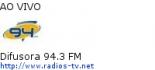 Difusora 94.3 FM - Ao Vivo