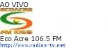 Eco Acre 106.5 FM - Ao Vivo