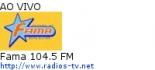 Fama 104.5 FM - Ao Vivo