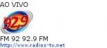 FM 92 92.9 FM - Ao Vivo