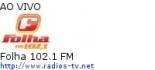 Folha 102.1 FM - Ao Vivo