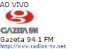 Gazeta 94.1 FM - Ao Vivo