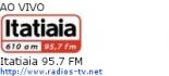 Itatiaia 95.7 FM - Ao Vivo