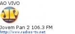 Jovem Pan 2 106.3 FM - Ao Vivo