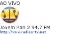 Jovem Pan 2 94.7 FM - Ao Vivo