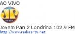 Jovem Pan 2 Londrina 102.9 FM - Ao Vivo