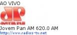 Jovem Pan AM 620.0 AM - Ao Vivo