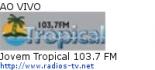 Jovem Tropical 103.7 FM - Ao Vivo