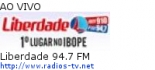 Liberdade 94.7 FM - Ao Vivo