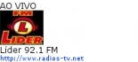 Líder 92.1 FM - Ao Vivo