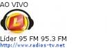 Líder 95 FM 95.3 FM - Ao Vivo