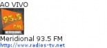 Meridional 93.5 FM - Ao Vivo