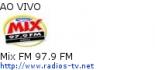 Mix FM 97.9 FM - Ao Vivo
