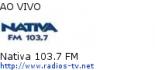 Nativa 103.7 FM - Ao Vivo