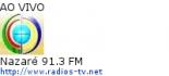 Nazaré 91.3 FM - Ao Vivo