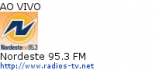 Nordeste 95.3 FM - Ao Vivo