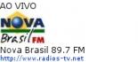 Nova Brasil 89.7 FM - Ao Vivo