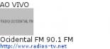Ocidental FM 90.1 FM - Ao Vivo