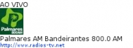 Palmares AM Bandeirantes 800.0 AM - Ao Vivo