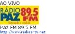 Paz FM 89.5 FM - Ao Vivo