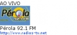 Pérola 92.1 FM - Ao Vivo