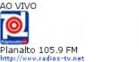 Planalto 105.9 FM - Ao Vivo