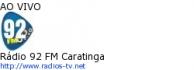 Rádio 92 FM Caratinga - Ao Vivo