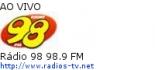 R�dio 98 98.9 FM - Ao Vivo