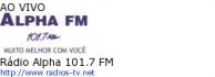 Rádio Alpha 101.7 FM - Ao Vivo