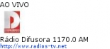 R�dio Difusora 1170.0 AM - Ao Vivo