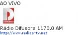 Rádio Difusora 1170.0 AM - Ao Vivo