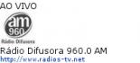 Rádio Difusora 960.0 AM - Ao Vivo