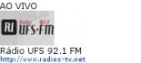 Rádio UFS 92.1 FM - Ao Vivo