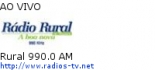 Rural 990.0 AM - Ao Vivo