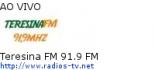 Teresina FM 91.9 FM - Ao Vivo