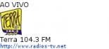 Terra 104.3 FM - Ao Vivo