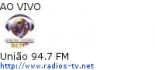 União 94.7 FM - Ao Vivo